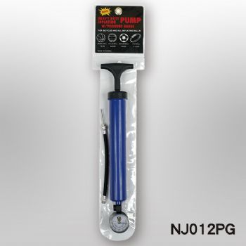 "12"" ONE WAY PUMP(T HANDLE) + GAUGE"
